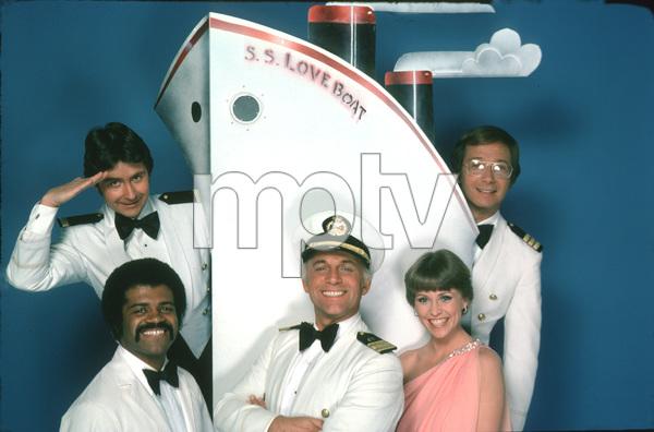 """Love Boat, The""Fred Grandy, Ted Lange, Gavin MacLeod, Lauren Tewes, Bernie Kopell © 1978 ABC / MPTV - Image 1524_0094"