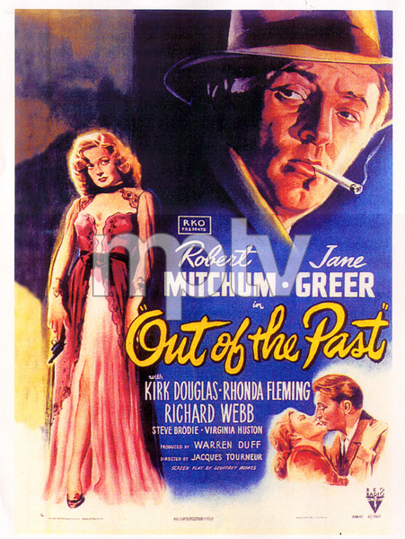 """Out of the Past""Poster1947 RKO**I.V. - Image 1552_0002"