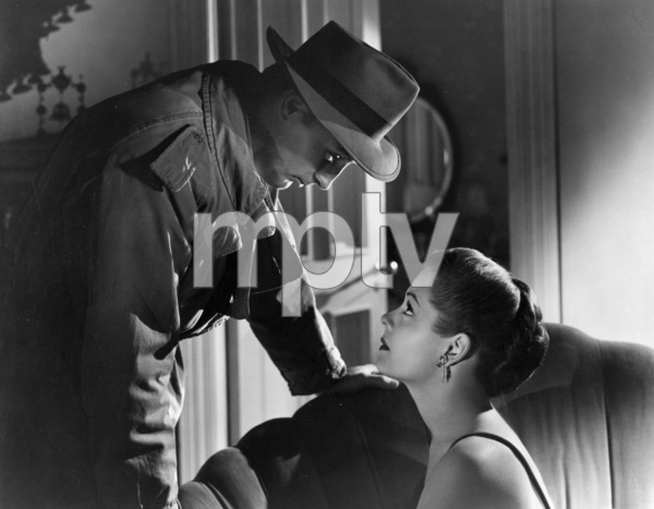 """""""Out of the Past""""Robert Mitchum, Jane Greer1947 RKO**I.V. - Image 1552_0004"""