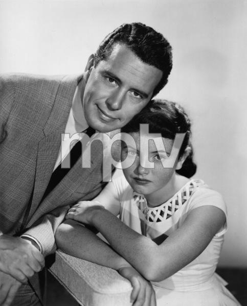 """Bachelor Father""John Forsythe, Noreen Corcorancirca 1957Photo by Gabi Rona - Image 1595_0005"