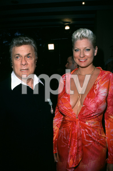 """Night of One Hundred Stars,""Tony Curtis & wife Jill.  3/26/00 © 2000 Scott Weiner - Image 16467_0007"