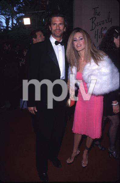 """Night of One Hundred Stars,""Lorenzo Lamas & wife Shauna Sand.3/26/00. © 2000 Scott Weiner - Image 16467_0059"