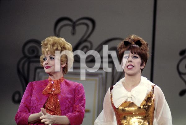 """Carol Burnett / Lucille Ball Television Special""Lucille Ball, Carol Burnett1966Photo by Ernest Reshovsky © 2000 Marc Reshovsky - Image 16526_0001"
