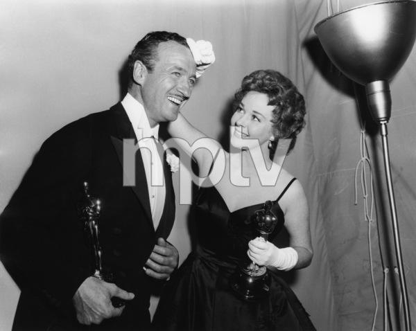 """The 31st Annual Academy Awards""David Niven, Susan Hayward1959** I.V. - Image 16528_0006"