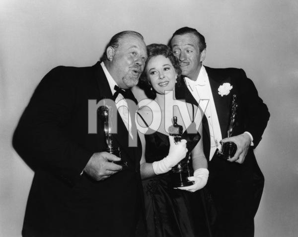 """""""The 31st Annual Academy Awards""""Burl Ives, Susan Hayward, David Niven1959** I.V. - Image 16528_0009"""