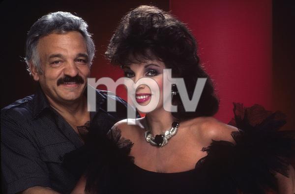Photographer Mario Casilli and Joan Collins1984Photo by Bernie Boudreau© 1984 Mario Casilli - Image 16543_0001