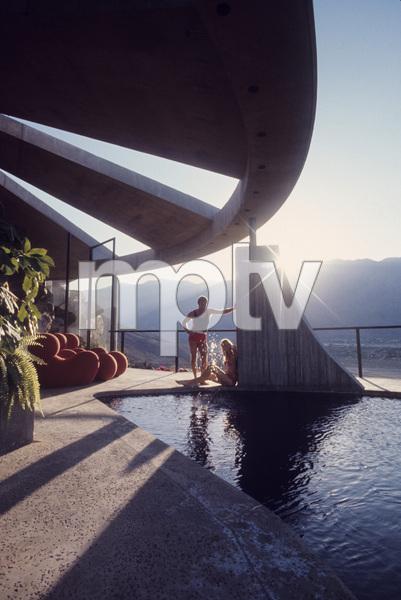 John Lautner house in Palm Springs, California (aka Bob Hope house)circa 1960s© 1978 Mario Casilli - Image 16543_0010
