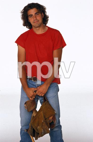 """Baby Talk""George Clooney1991 © 1991 Mario Casilli - Image 16550_0004"