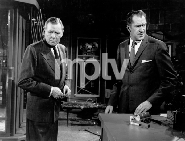 """""""The Fly,""""Herbert Marshal and Vincent Price.1958 20th Century Fox - Image 1661_0004"""