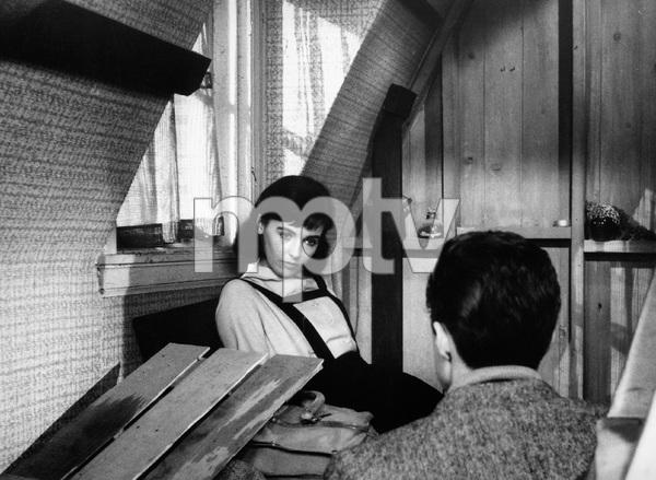 """The Diary of Anne Frank""Millie Perkins, Richard Beymer1959 20th Century FoxPhoto by Ernest E. Reshovsky © 2000 Marc Reshovsky - Image 16668_0002"