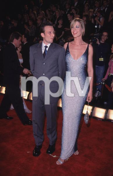 """Comedy Awards - 14th Annual,""Jenna Elfman & husband Bodhi.2/06/00. © 2000 Glenn Weiner - Image 16678_0007"