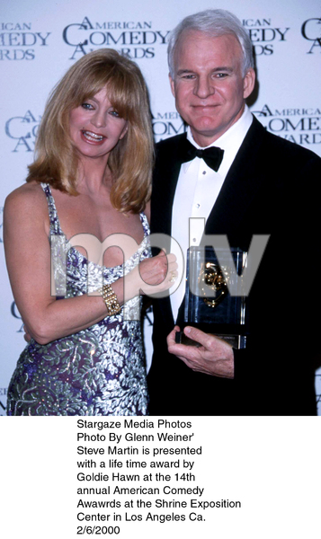 """Comedy Awards: 14th Annual,""Goldie Hawn & Steve Martin.  2/06/00. © 2000 Glenn Weiner - Image 16678_0105"
