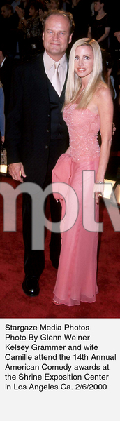 """Comedy Awards: 14th Annual,""Kelsey Grammer and wife Camille.2/06/00. © 2000 Glenn Weiner - Image 16678_0116"