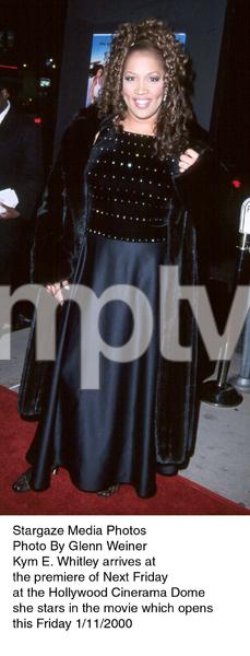 """Next Friday"" Premiere,Kym E. Whitley.  1/11/00. © 2000 Glenn Weiner - Image 16691_0102"