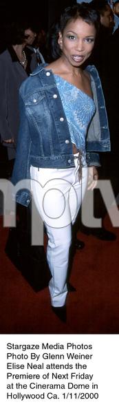 """Next Friday"" Premiere,Elise Neal.  1/11/00. © 2000 Glenn Weiner - Image 16691_0104"