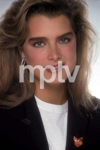 """Barbara Walters & Friends""Brooke Shields, 1988Photo by Mario Casilli - Image 16721_0004"