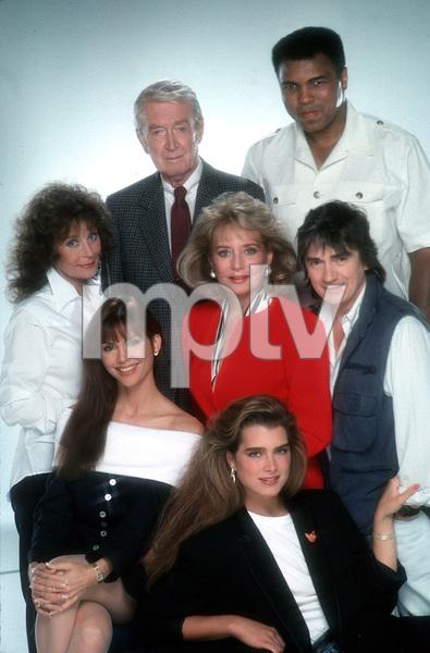 """Barbara Walters and Friends""L.Lynn, J.Stewart, M.Ali, V.Principle, B.Walters,D.Moore, and B.Shields © 1988 Mario Casilli - Image 16721_0006"