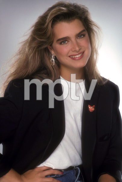 """Barbara Walters & Friends""Brooke Shields, 1988Photo by Mario Casilli - Image 16721_0014"