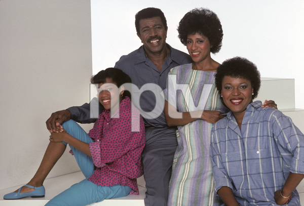 """227""Regina King, Hal Williams, Marla Gibbs, Alaina Reed-Hall1985© 1985 Mario Casilli - Image 16741_0006"