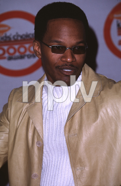 """Kids Choice Awards,""Jamie Fox.  4/14/00. © 2000 Glenn Weiner - Image 16758_0001"