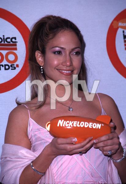 """Kids Choice Awards,""Jennifer Lopez. 4/14/00. © 2000 Glenn Weiner - Image 16758_0007"