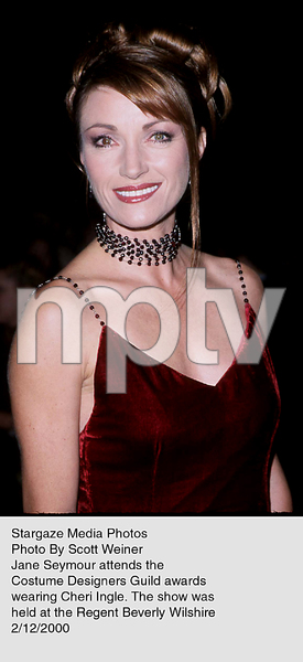 """Costume Designers Guild Awards,""Jane Seymour.  2/12/00. © 2000 Scott Weiner - Image 16944_0102"