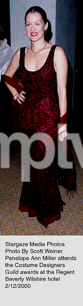 """Costume Designers Guild Awards,""Penelope Ann Miller.  2/12/00. © 2000 Scott Weiner - Image 16944_0108"