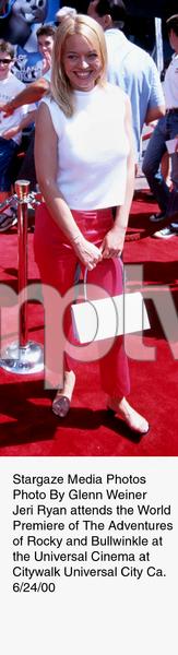 """Adventures of Rocky & Bullwinkle, The"" Premiere,Jeri Ryan.  6/24/00. © 2000 Glenn Weiner - Image 16957_0107"
