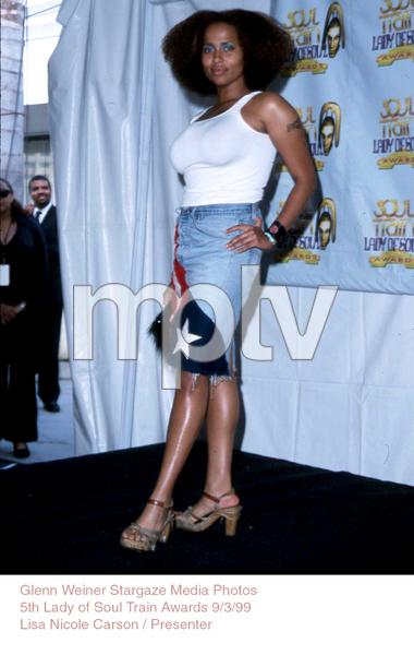 """Lady Of Soul Train Awards - 5th Annual,""Lisa Nicole.  9/3/99. © 1999 Glenn Weiner - Image 16977_0104"