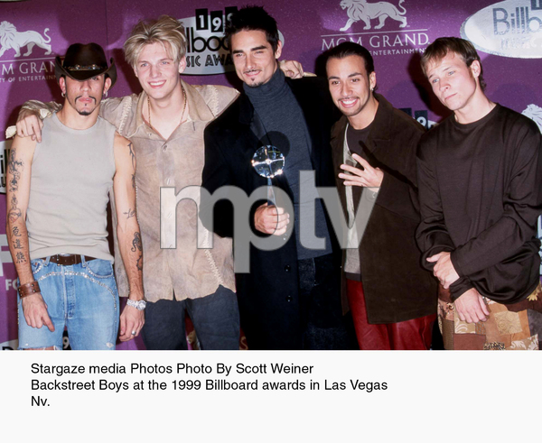 """Billboard Music Awards - 1999,""Backstreet Boys. © 1999 Scott Weiner - Image 16979_0101"