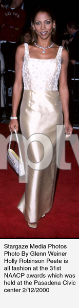 """NAACP Image Awards - 31st,""Holly Robinson Peete.  2/12/00. © 2000 Glenn Weiner - Image 16983_0101"