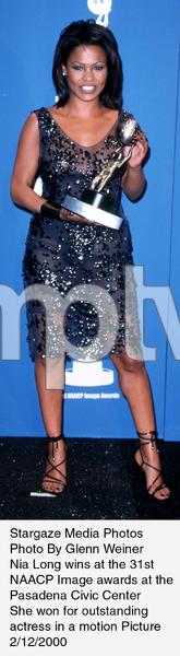 """NAACP Image Awards - 31st,""Nia Long.  2/12/00. © 2000 Glenn Weiner - Image 16983_0112"