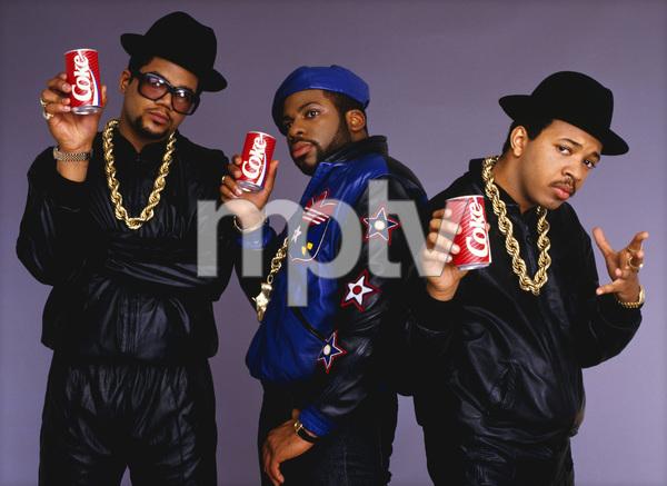 Run DMC (Darryl McDaniels, Jason Mizell, Joseph Simmons)1988 © 2009 Bobby Holland - Image 17002_0004