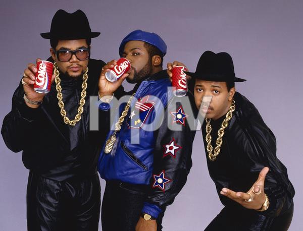 Run DMC (Darryl McDaniels, Jason Mizell, Joseph Simmons)1988 © 2009 Bobby Holland - Image 17002_0005