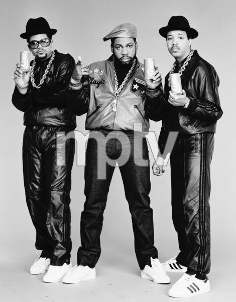 Run DMC (Darryl McDaniels, Jason Mizell, Joseph Simmons)1988 © 2009 Bobby Holland - Image 17002_0006
