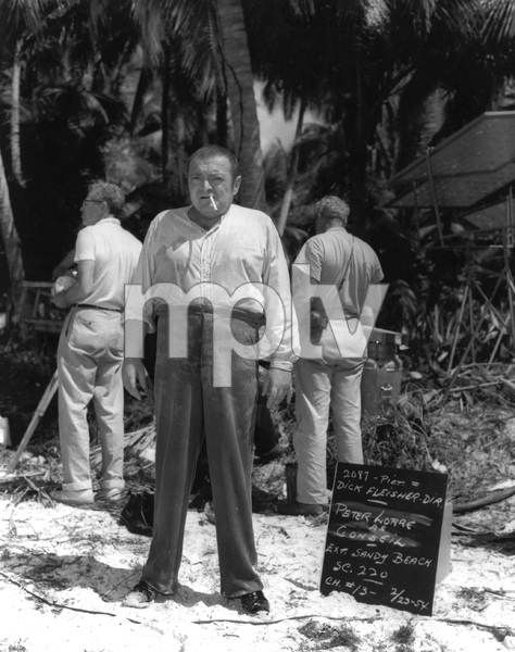 """20,000  LEAGUES UNDER THE SEA"" Peter Lorre wardrobe test, Buena Vista, 1954, I.V. - Image 1701_0006"