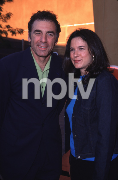 """NBC Press Tour Party - 2000,""Michael Richards & Amy Farrington.7/19/00. © 2000 Glenn Weiner - Image 17024_0010"