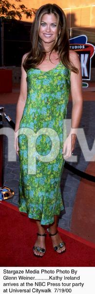 """""""NBC Press Tour Party - 2000,""""Kathy Ireland.  7/19/00. © 2000 Glenn Weiner - Image 17024_0105"""