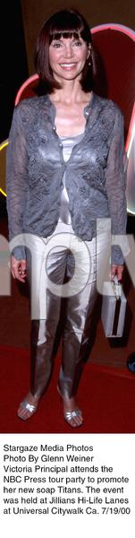 """NBC Press Tour Party - 2000,""Victoria Principal.  7/19/00. © 2000 Glenn Weiner - Image 17024_0106"