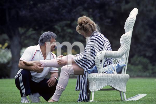 "Photographer Mario Casilli shooting Mariel Hemingway during a photo shoot for the film, ""Star 80""1982© 1982 Mario Casilli - Image 17060_0017"