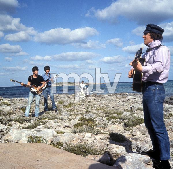 """Help!""Paul McCartney, George Harrison, Ringo Starr, John Lennon1965 United Artists** I.V. - Image 17132_0018"