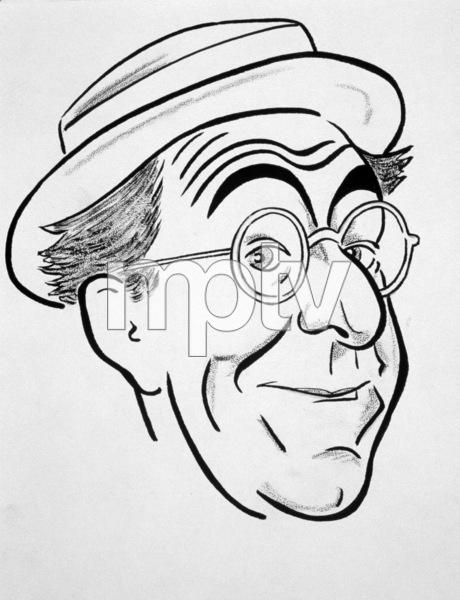 Ed Wynn (celebrity caricatures) © 1978 Jack Lane - Image 17150_0013