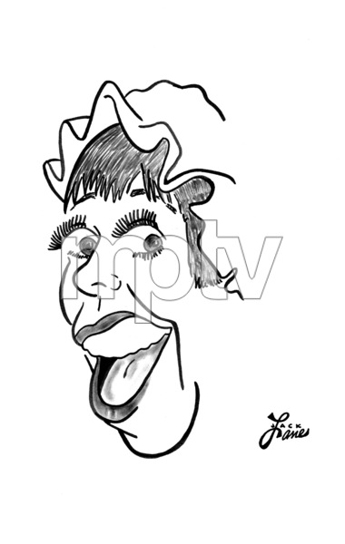 Carol Burnett1969Celebrity Caricatures © 2000 Jack Lane - Image 17150_0051