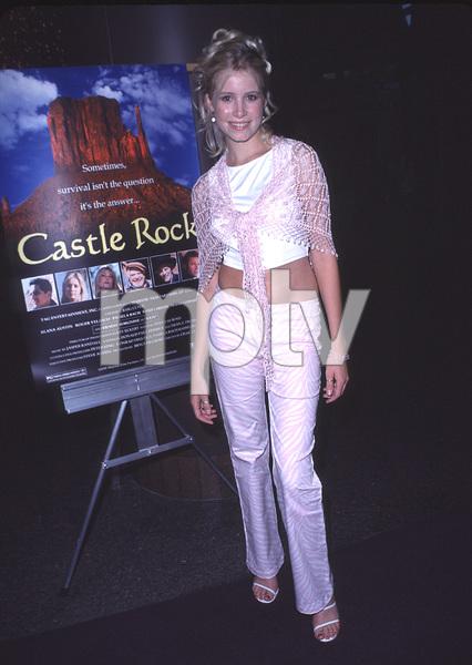 """Castle Rock"" Premiere,Alana Austin.  8/11/00. © 2000 Scott Weiner - Image 17151_0007"