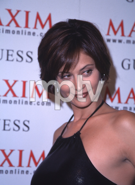 """Maxim Motel Grand Opening Party,""Catherine Bell.  8/10/00. © 2000 Glenn Weiner - Image 17152_0006"