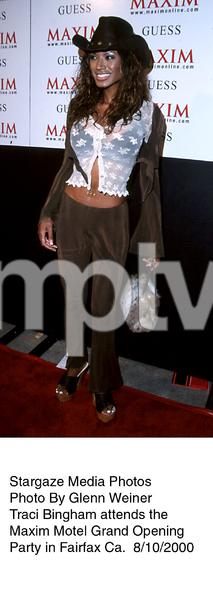 """Maxim Motel Grand Opening Party,""8/10/00. Traci Bingham. © 2000 Glenn Weiner - Image 17152_0119"