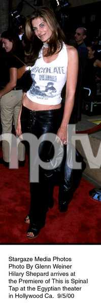"""""""This Is Spinal Tap"""" Premiere (Re-release).9/5/00.  Hilary Shepard. © 2000 Glenn Weiner - Image 17198_0103"""