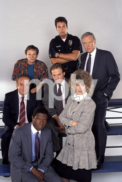 """Cop Rock""Vondie Curtis-Hall, Ron McLarty, Paul McCrane, Mick Murray, Larry Joshua, Ronny Cox, Barbara Bosson1990 © 1990 Mario Casilli - Image 17202_0001"