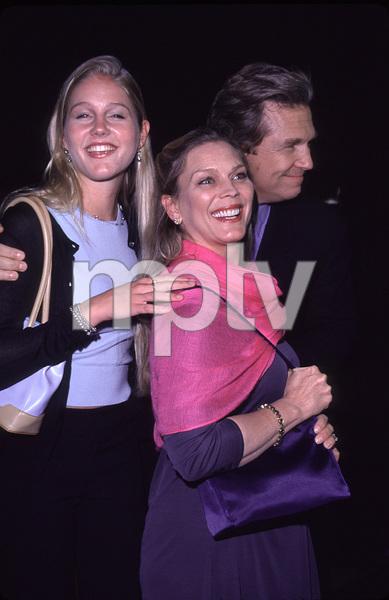 """""""Contender, The"""" Premiere.Jeff Bridges with wife Susan Gestonand daughter.  10/5/00. © 2000 Glenn Weiner - Image 17245_0001"""