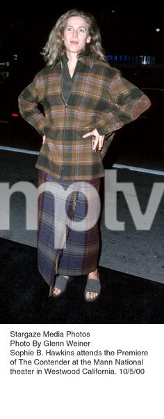 """""""Contender, The"""" Premiere.Sophie B. Hawkins.  10/5/00. © 2000 Glenn Weiner - Image 17245_0109"""